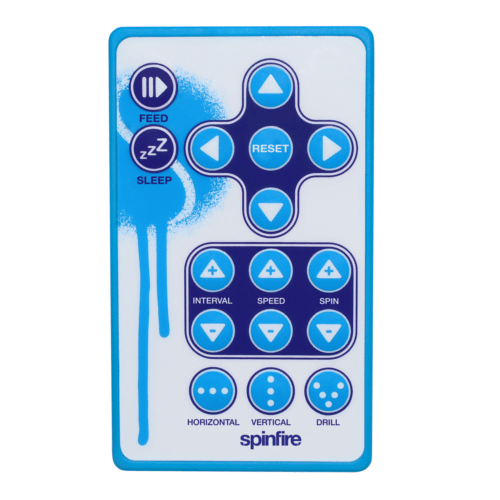 Spinfire Pro 2 Tennis Ball Machine Remote Control