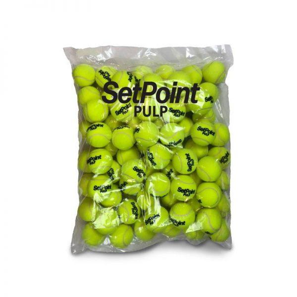 Spinfire Pro 2 Tennis Ball Machine SetPoint Pulp Pressureless Balls 1 Pack